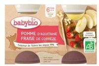 Babybio Pot Pomme Fraise à Mérignac
