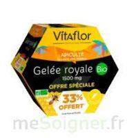 Vitaflor Bio Gelée Royale 1500mg Solution Buvable 20 Ampoules/15ml Promotion à Mérignac