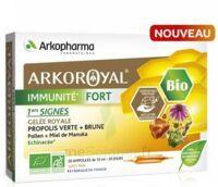 Arkoroyal Immunité Fort Solution Buvable 20 Ampoules/10ml à Mérignac