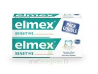 ELMEX SENSITIVE DENTIFRICE, tube 75 ml, pack 2 à Mérignac