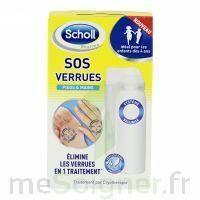 Scholl SOS Verrues traitement pieds et mains à Mérignac