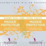Secrets des Fées Masque Protecteur Nourrissant Peel-Off à Mérignac