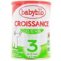 BABYBIO CROISSANCE 3, bt 900 g à Mérignac