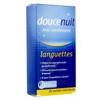 DOUCENUIT ANTIRONFLEMENT LANGUETTES, sachet 28 à Mérignac