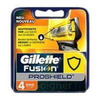 Lames de rasoir fusion proshield GILLETTE, 4 recharges à Mérignac