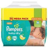 Pampers Baby Dry T4 - 8 à 16kg Megapack à Mérignac