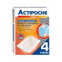 Actipoche Patch Chauffant Douleurs Musculaires B/4 à Mérignac