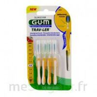 GUM TRAV - LER, 1,3 mm, manche jaune , blister 4 à Mérignac