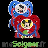 Dodie Disney Sucette anatomique silicone +6mois Mickey Lot/2 à Mérignac
