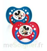 Dodie Disney sucettes silicone +18 mois Mickey Duo à Mérignac