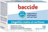 Baccide Lingette désinfectante mains & surface 12 Pochettes à Mérignac