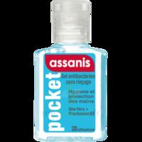 Assanis Pocket Gel antibactérien mains 20ml à Mérignac