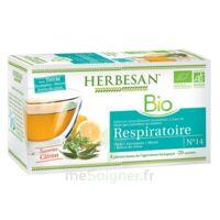 Herbesan Thym bio Tisane respiratoire 20 Sachets à Mérignac