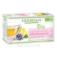 Herbesan Infusion Bio Tisane allaitement 20 Sachets à Mérignac
