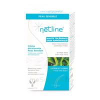 Netline Crème visage/corps décolorante peau sensible 30+30ml à Mérignac