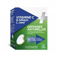 Nutrisanté Vitamine C+Probiotiques Comprimés à croquer 2*T/12 à Mérignac