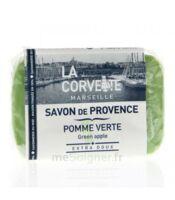 La Corvette Marseille Savonnette de Provence Pomme Verte 100g