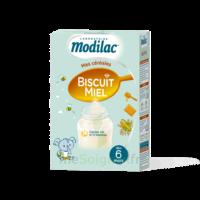 Modilac Céréales Farine Biscuit miel à partir de 6 mois B/300g à Mérignac
