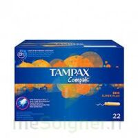 Tampax Compak - Tampon Super Plus à Mérignac