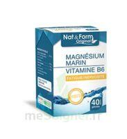 Nat&Form Expert Magnésium+Vitamine B6 Gélules B/40 à Mérignac