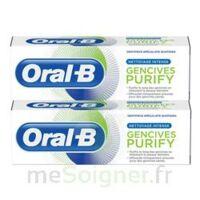 Oral B Gencives Purify Dentifrice 2*t/75ml à Mérignac